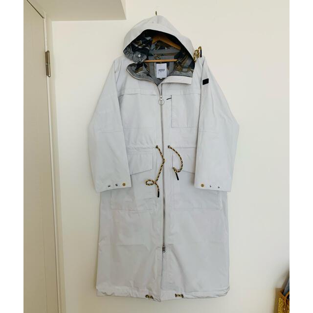AIGLE(エーグル)のAIGLE♡ゴムびきビッグシルエットコート 美品 レディースのジャケット/アウター(ロングコート)の商品写真