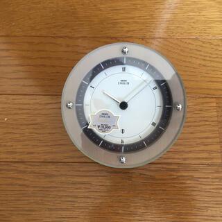 セイコー(SEIKO)のSEIKOエンブレム置き時計(置時計)