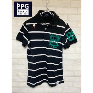 PEARLY GATES - パーリーゲイツ   ポロシャツ Lサイズ ゴルフウェア メンズ