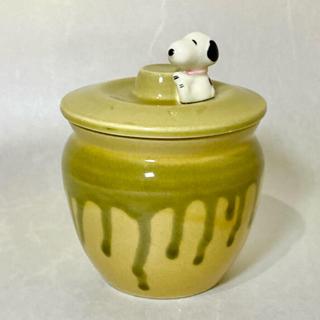 SNOOPY - スヌーピー  陶器 漬物ポット 梅入れ ミニ壺