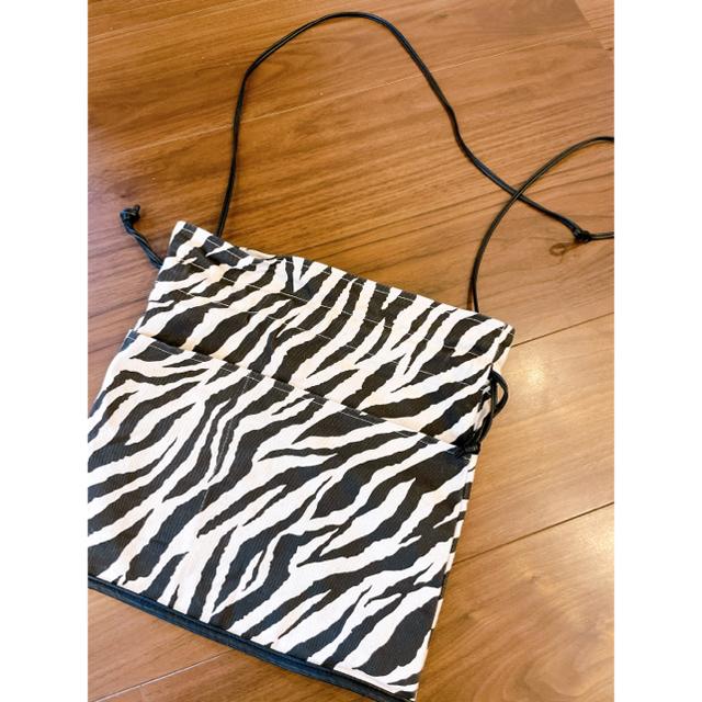 SeaRoomlynn(シールームリン)のsearoomlynn♡eco leather linen巾着bag レディースのバッグ(ショルダーバッグ)の商品写真