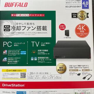 Buffalo - 【新品未開封】バッファロー外付けHDD 4TB HD-LDF4.0U3-BA/Y