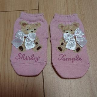 Shirley Temple - シャーリーテンプル くま クマ 靴下 11 12 13 テディベア