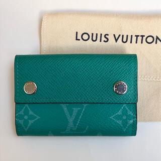 LOUIS VUITTON - ルイヴィトン タイガラマ 限定カラー ディスカバリー コンパクト 財布