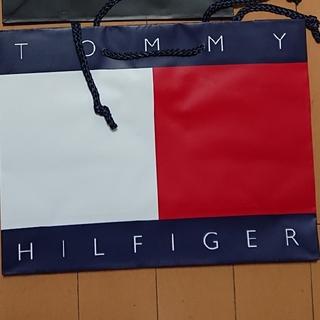 TOMMY HILFIGER - トミーヒルフィガー フラッグ ショップ袋 紙袋