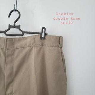 Dickies - Dickies ダブルニー サンドカーキ 40×32 ワークパンツ