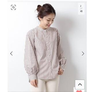 Spick and Span - スピック&スパン パールボタンロングスリーブシャツ
