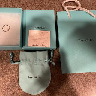 Tiffany & Co. - 【美品】ティファニー エルサ・ペレッティ ウェーブ シングルロウ リング