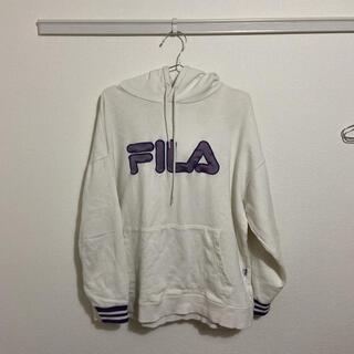 FILA - FILA パーカー グレーがかったホワイト