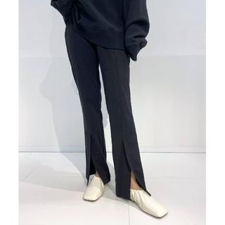 L'Appartement DEUXIEME CLASSE - 新品【CINOH/チノ】別注 センターベンツストレッチパンツ 38 ブラック