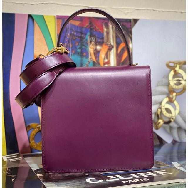 celine(セリーヌ)の激レア 美品 VINTAGE OLD CELINE 2WAY サルキーバッグ レディースのバッグ(ショルダーバッグ)の商品写真