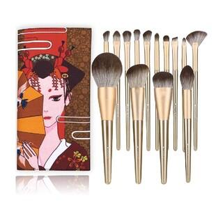 【プロ化粧師が推薦】 メイクブラシ14本セット硬すぎず柔らかすぎず 化粧筆セット
