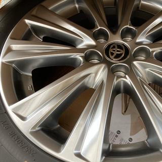 トヨタ(トヨタ)のトヨタアルファード タイプゴールド18インチアルミ&純正タイヤ4本セット!(タイヤ・ホイールセット)