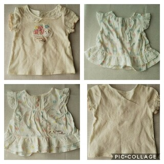クーラクール(coeur a coeur)のクーラクール  夏向け  半袖Tシャツ2枚(Tシャツ)