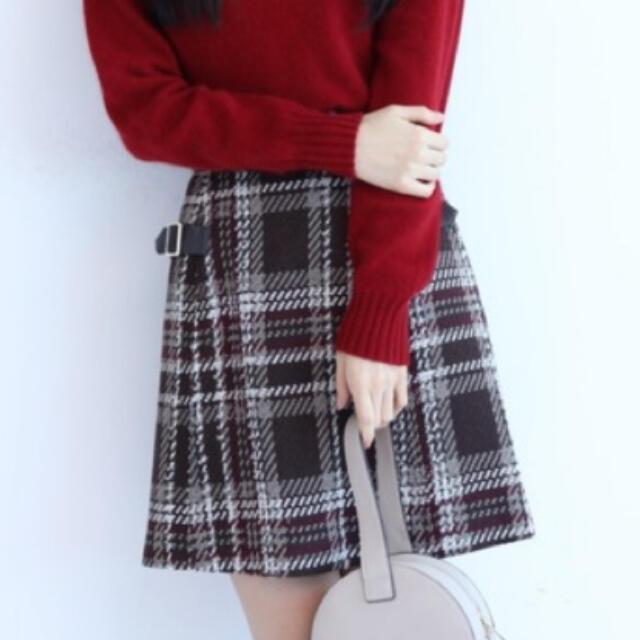 Rirandture(リランドチュール)の※ニコさまお取り置き※リランドチュール♡チェックスカート レディースのスカート(ひざ丈スカート)の商品写真