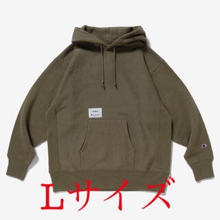 W)taps - wtaps×champion REVERSEWEAVE HOODED OLIVE