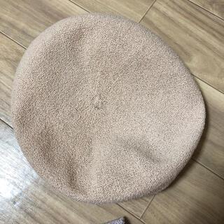 CA4LA - ピンクベージュ ベレー帽