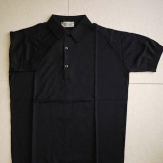 ジョンスメドレー(JOHN SMEDLEY)の新品 デッドストック ジョンスメドレー  半袖ポロシャツ M(ポロシャツ)