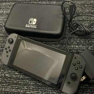 Nintendo Switch - ニンテンドースイッチ 旧型 本体 充電器 持ち運びケース