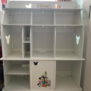 ディズニー(Disney)のディズニー英語システム DWE ブックケース 棚 ホワイト(知育玩具)