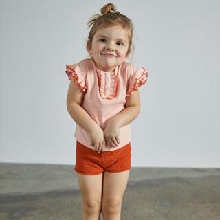 Caramel baby&child  - 【新品】misha and puff Rae Ruffle Top 3-4y