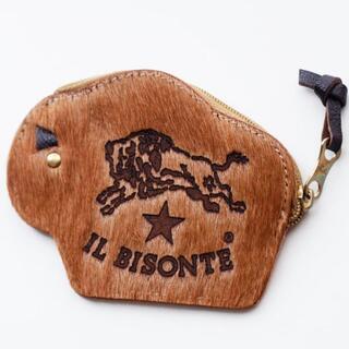 イルビゾンテ(IL BISONTE)のイルビゾンテ コインケース ビリー レザー ロゴ 刻印 SALE(コインケース)