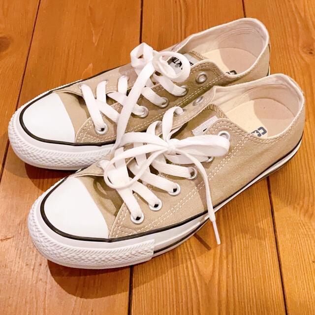 CONVERSE(コンバース)のコンバース ベージュ 23.5 オールスター レディースの靴/シューズ(スニーカー)の商品写真