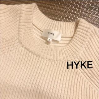 ハイク(HYKE)のHYKE リブニット(ニット/セーター)
