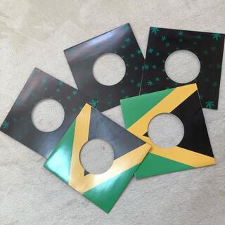 新品!【NY購入】レコード用ジャケットカバー 5枚セット紙(ターンテーブル)