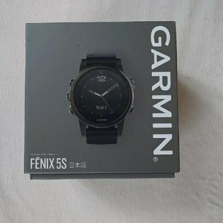 ガーミン(GARMIN)のGarmin fenix 5S Sapphire Black(腕時計(デジタル))