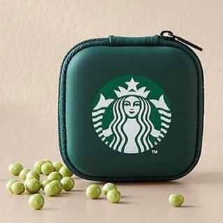 スターバックスコーヒー(Starbucks Coffee)の日本未発売 スターバックス ミニケース イヤホンケース ハード サイレンマーク(iPhoneケース)