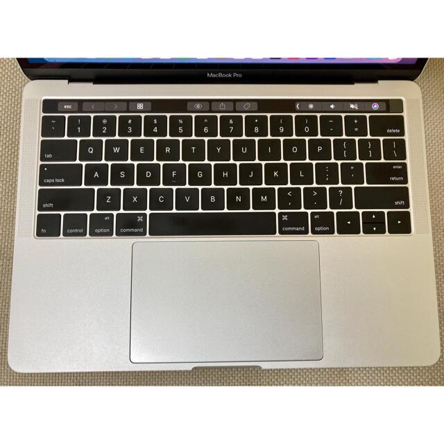 Mac (Apple)(マック)のMacBook pro 13インチ 2016 i7 16GB タッチバー搭載 スマホ/家電/カメラのPC/タブレット(ノートPC)の商品写真