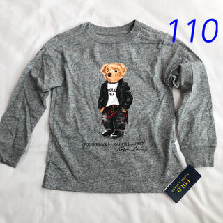 POLO RALPH LAUREN - ラルフローレン ポロベア コットンTシャツ グレー 4T/110