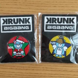 ビッグバン(BIGBANG)のBIGBANG缶バッチ(アイドルグッズ)