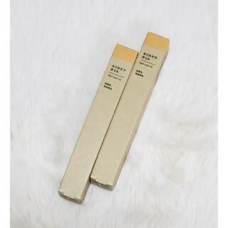 MUJI (無印良品) - 【ハッピー✨  様 専用】無印良品 ネイルケアオイル 2本セット