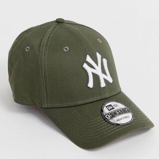 NEW ERA - 【新品未使用】NEW ERA ニューエラ NY ベースボールキャップ カーキ