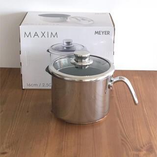 マイヤー(MEYER)のMEYER・マイヤー□8クックmマルチポット/16cm・片手鍋(鍋/フライパン)