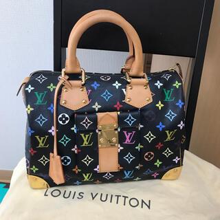 LOUIS VUITTON - マルチカラースピーディ30ルイヴィトンハンドバッグ