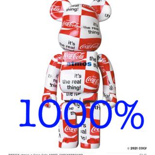 MEDICOM TOY - ベアブリック atmos コカコーラ 1000% CHECKERBOARD