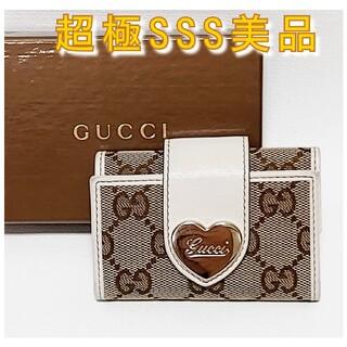 Gucci - 【見栄え最高⭐️大赤字の最終限界価格‼️】GUCCI グッチ キーケース