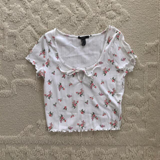 ロキエ(Lochie)のflower tops(Tシャツ(半袖/袖なし))