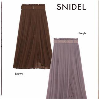 FRAY I.D - スナイデル ブラウンスカート プリーツスカート