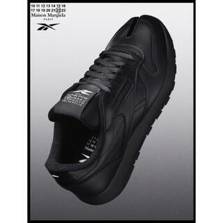 Maison Martin Margiela - マルジェラ×リーボック Classic Leather Tabi black28
