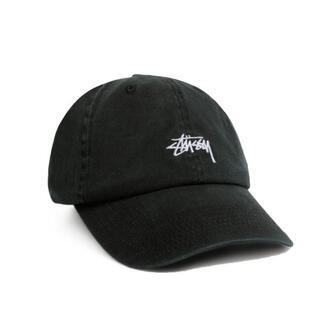 STUSSY - 未使用 ステューシー キャップ STOCK LOW PROFILE CAP 黒