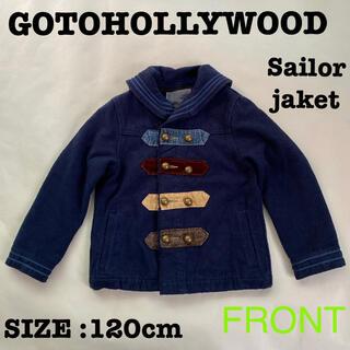 ゴートゥーハリウッド(GO TO HOLLYWOOD)のゴートゥーハリウッド GTH G2H セーラージャケット Pコート ジャケット(ジャケット/上着)