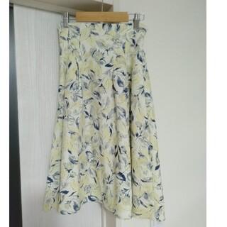 ミーア(MIIA)のMIIA 花柄スカート(ロングスカート)