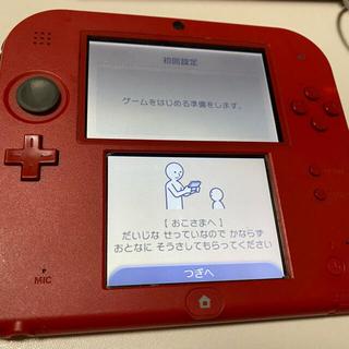 ニンテンドー2DS(ニンテンドー2DS)の[ジャンク品]ニンテンドー2DS レッド(携帯用ゲーム機本体)