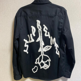 Supreme - 美中古 supreme 18fw rose work shirts ワークシャツ