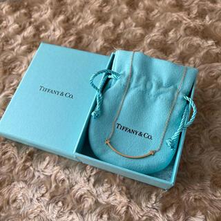 Tiffany & Co. - Tiffany ティファニー Tスマイル ネックレス 750