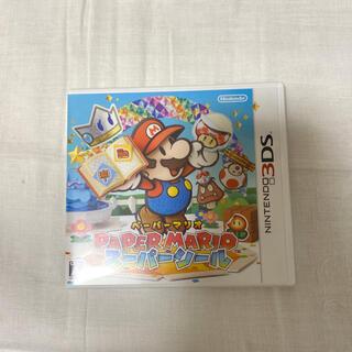 ニンテンドー3DS(ニンテンドー3DS)のNintendo 3DS ソフト ペーパーマリオ スーパーシール(携帯用ゲームソフト)